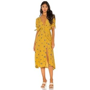 Faithfull the Brand / Billie Midi Dress Floral